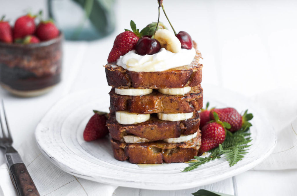 banana bread french toast paleo