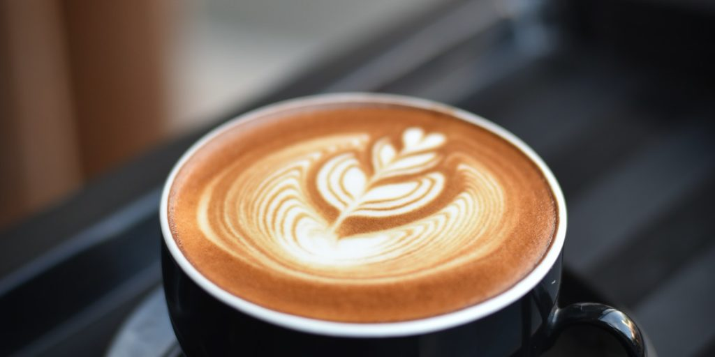 A picture of coffee