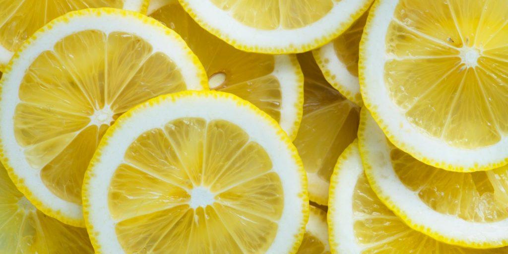 lots of lemon