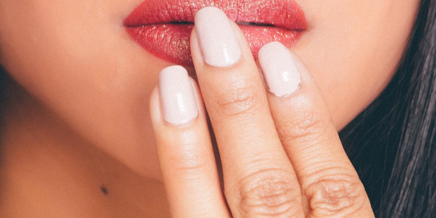 lady`s lips