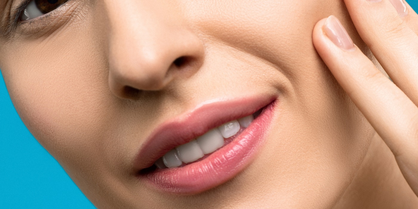 woman`s nose