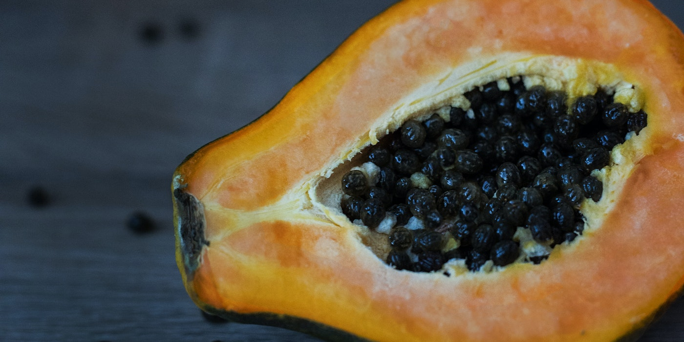 Pawpaw with seed