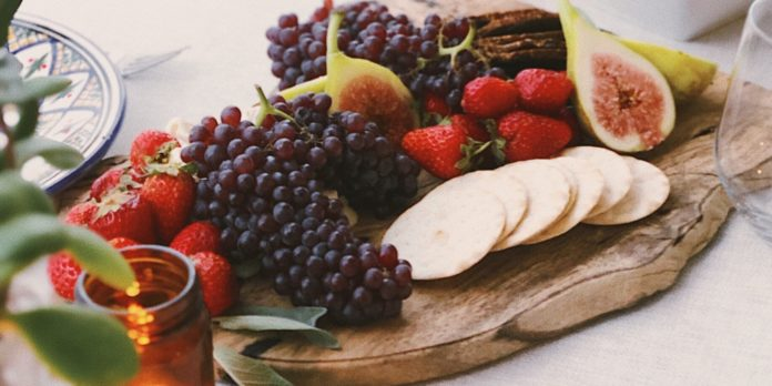 food with grapes