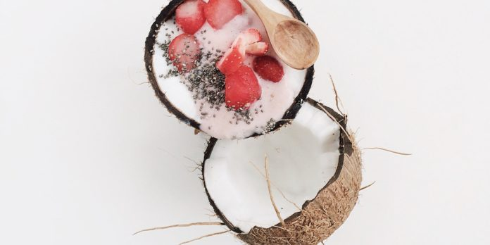 fruity coconut