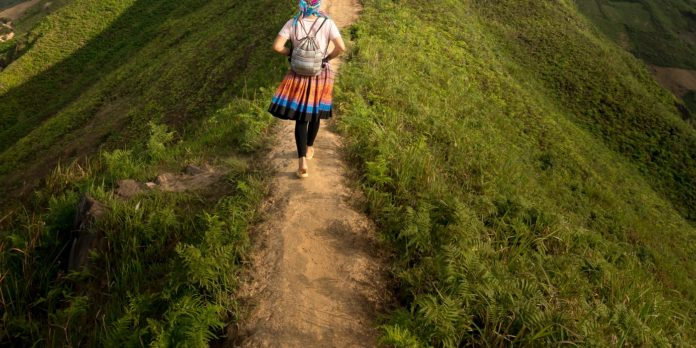 meditative walking