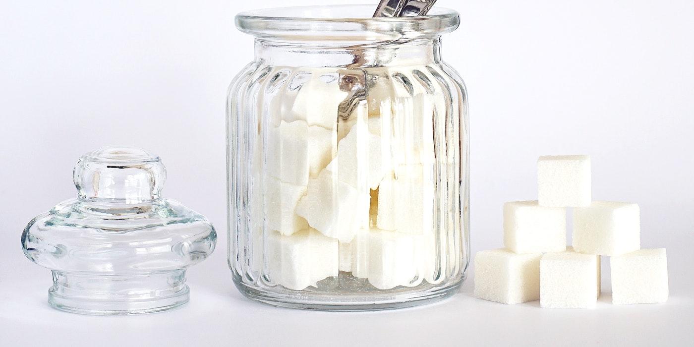 sugar in a jar