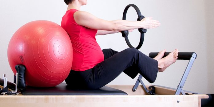 pregnant woman exercise