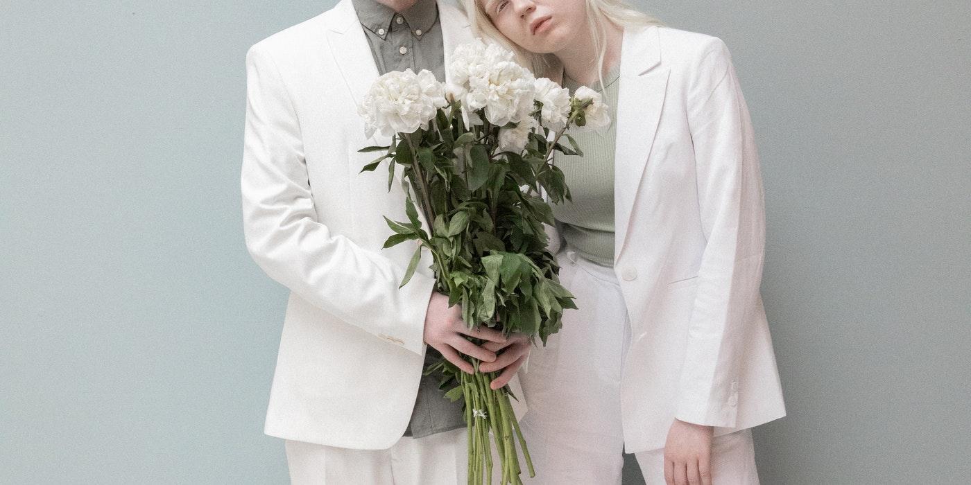 albino parents